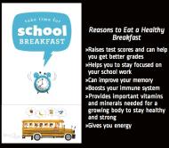 Take time for schoolbreakfast