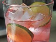 Low-calorie sparkling juice