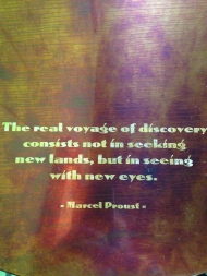 Real voyage ofdiscovery