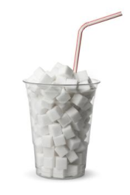 How often is a sugary drink all there is?